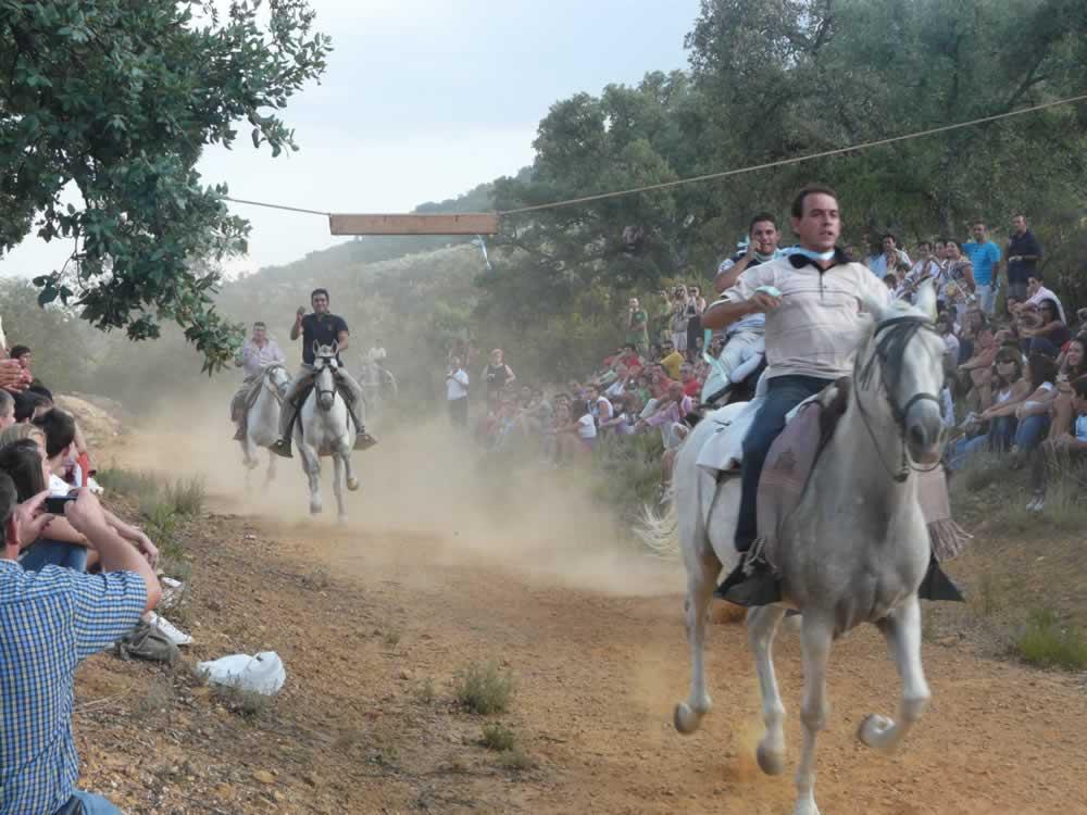 Carrera de Cintas en Fuencaliente