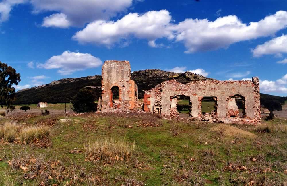 Construcciones y Pozo de la Mina La Romana