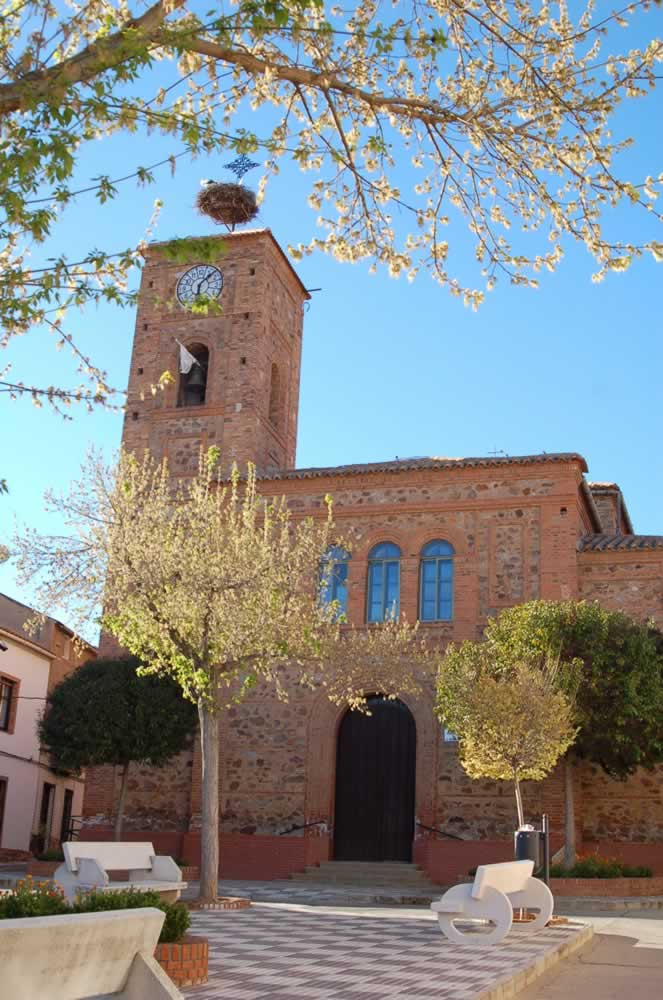 Iglesia de San Bernardo de Claraval de Hinojosas de Calatrava