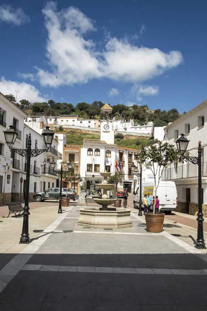 Plaza de España en Fuencaliente
