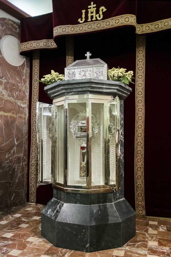Reliquias de San Juan de Ávila en su Casa Natal de Almodóvar del Campo