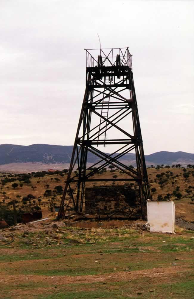 Torre metálica de la Mina de las Pozas