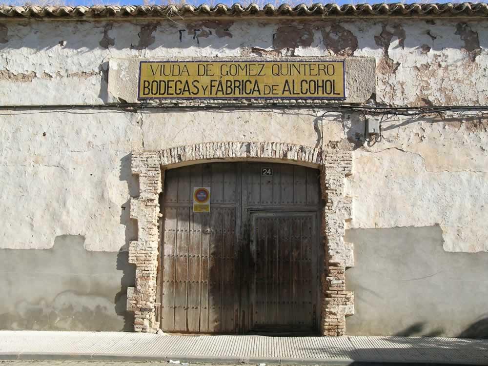Bodega y Fábrica de Alcohol de la Viuda de Gómez Quintero