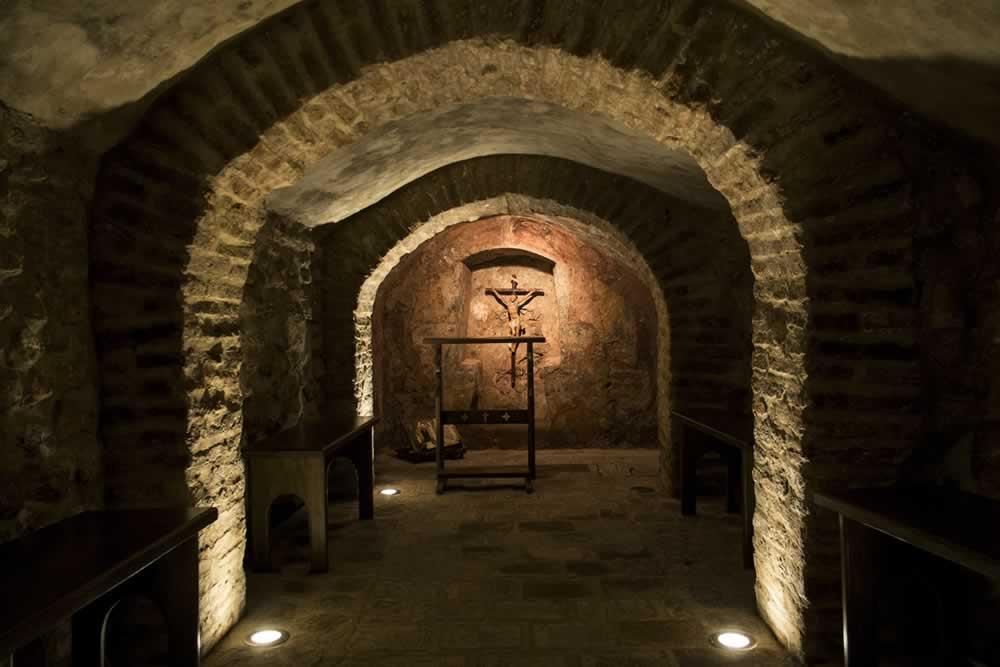 Cueva de las Penitencias en la Casa de San Juan de Ávila